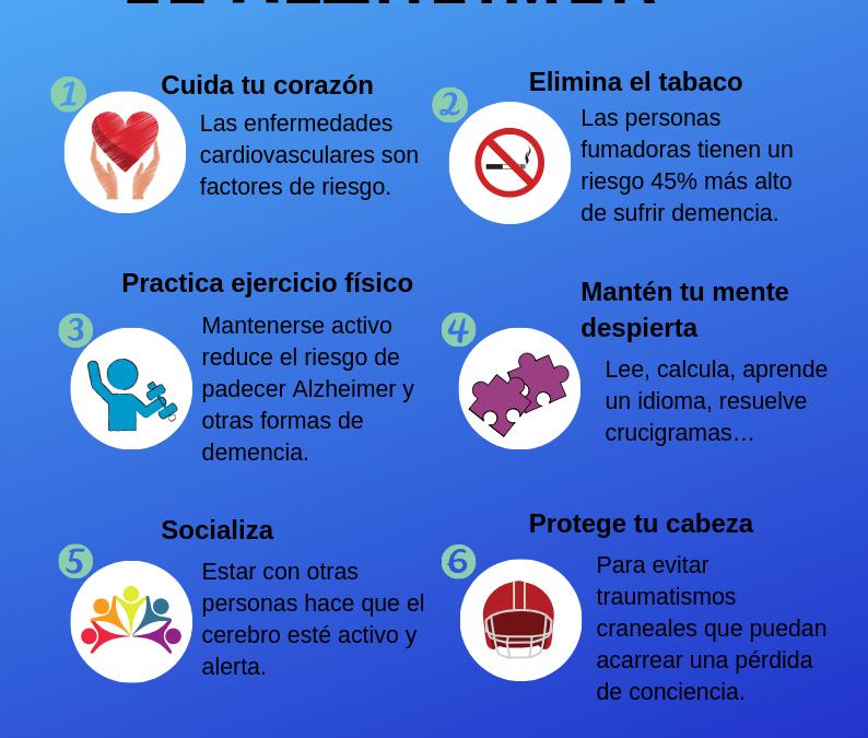 7 FORMAS DE PREVENIR EL ALZHEIMER