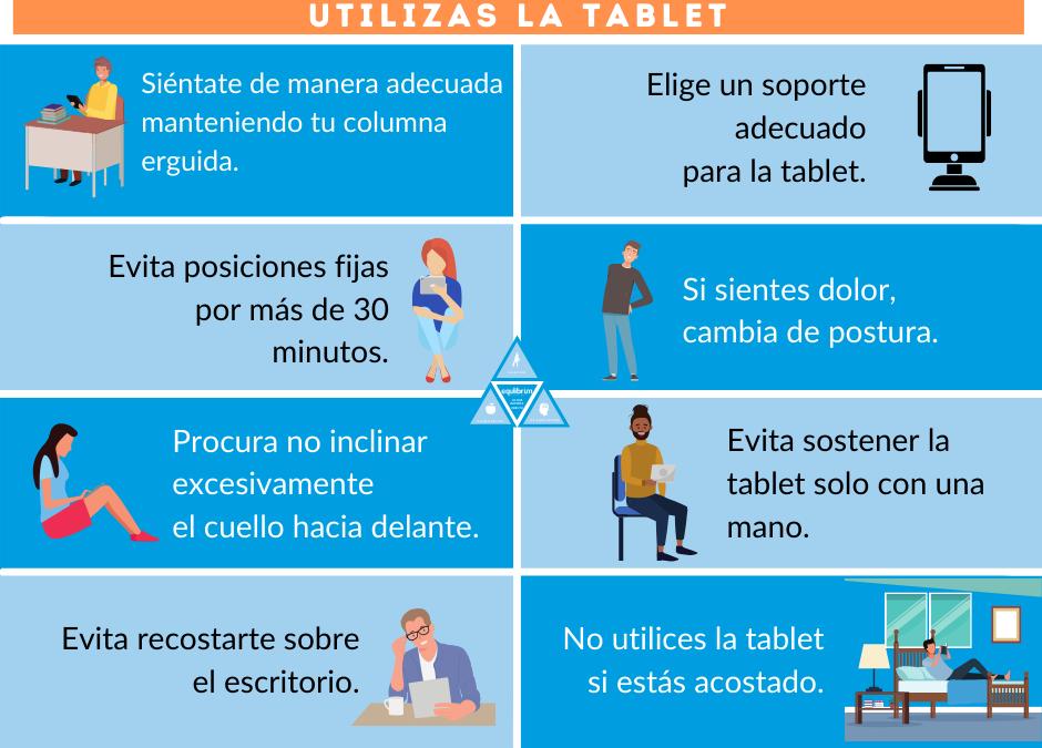 POSICIONES DE TRABAJO CON DISPOSITIVOS